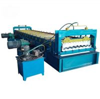 factory customized freight car truck box board roll forming machine