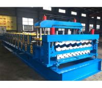 840/900 Double Layer Roof Tile Forming Machine