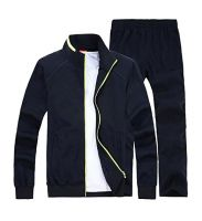 Zipper jacket and Trouser