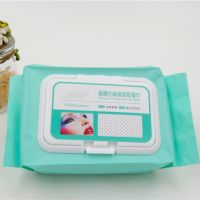 Massage facial cosmetic wipes