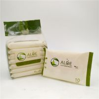 aloe nature wholesale Disposable magical push clean wet wipes with restaurant/wedding/partydding/party