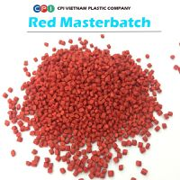 RED MASTERBATCH FOR FILM BLOWING, INJECTION MOLDING