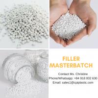 Calcium carbonate filler masterbatch, polypropylene based for PP woven bag