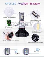 Wholesale G10 9005/9006/H10 60W 6000K DIY 3000K 8000K LED Fog Lights
