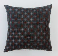 Durable Polyester fabric Nylon yarn square shape Geometric Patterns pillow covers