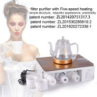 Desktop water filter purifier with Five-speed heating system,No need to instal