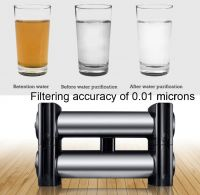 Double Stage 304 Stainless Steel UF Membrane Kitchen filter water treatment