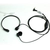 2.5mm Throat Vibration Mic Headset Air Tube Earpiece with Finger PTT for Two Way Radio For Motorola T5428 T5728 T6200C T5 T6 T8