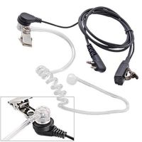 Wholesale Surveillance Covert Acoustic Tube PTT Earpiece Headset Mic for Motorola talkabout 1 pin 2.5mm two way radio