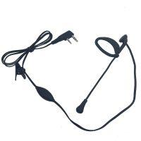 Wholesale Clip-Ear Walkie Talkie Earphone Headphone Earpiece Boom MIC For Kenwood Baofeng Puxing Beast Bright Linton Iradio Two Way Radio