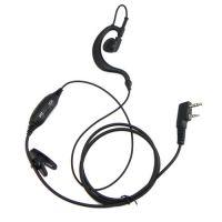 VOX PTT walkie talkie earpiece headphone for kenwood baofeng puxing weierwei brand two way radios-Free shipping Fast delivery