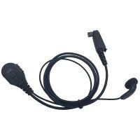 Walkie Talkie Vox earbud PTT Mic In-ear Headphone Earpiece for Two Way Radio Hytera TC780 TC710 TC3000 TC3600M