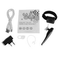 Wireless Bluetooth Handsfree Earphone Handheld 2 Way Wireless Radio Walkie Talkie Headset with PTT microphone for BAOFENG/Motorcycle