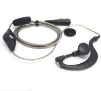 1pin 2.5mm Black Aluminum Foil Earpiece Earphone Headset for Motorola Talkabout Cobra Walkie Talkie Two Way Radio T6200C