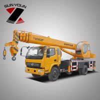 Famous Brand Henan Sunyoun 12 Tons Mobile Crane