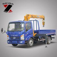 Hot Sale 12ton Truck Crane in Algeria Market