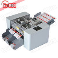 3 Years warranty office A4 business card cutter auto feeding id card cutting machine factory
