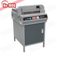 NO MOQ heavy duty high speed electric paper cutting machine program control guillotine paper cutter manufacturer