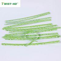 10cm esp for u cartoon printed spool kraft paper twist ties for bread/candy/lollipop bags