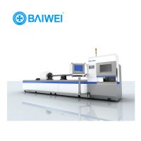 Large scale 4000w 3mm aluminum laser cutting machine for metal with swiss design
