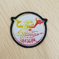 Dye Sublimated Patches with Embroidery Border