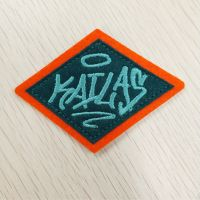 Hot Sell Felt Embroidery Patches