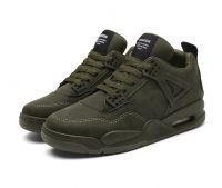 Non-slip Rubber outsole material PU upper men basketball shoes