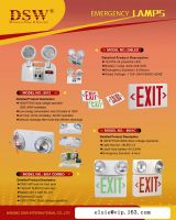 Emergency lamps
