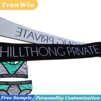 custom woven jacqurad elastic band for underwear
