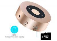 New Arrival Metal Wireless Bluetooth Mini Speaker