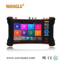 Best function 7 inch Retina Display IP camera tester Android system cctv tester with digital multimeter