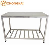 hotel restaurant commercial kitchen stainless steel worktable