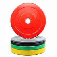 Color Rubber Bumper Plates Crossfit