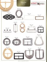 Zinc alloy buckle
