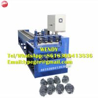 2019 newest scourer making machine 0.7mm scourer combine machine
