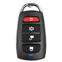 Metal four-button garage door omnipotent super copy Remote control key Access control universal copying Wireless remote control