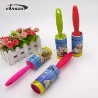 Good quality promotional adhesive lint roller with refill