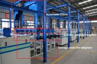 HJ-DDX Fully Automatic electroplating Production Line For Rotogravure Cylinder