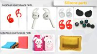 Cell phone & earphone cover silicone products