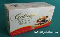 Our Expertise - Leaf Gelatine (Gelatin sheets)