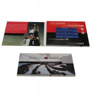 ETG OEM Design LCD Screen Video Greeting Card Video Booklet For Invitation