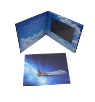 10.1 inch HD Screen Video Invitation Brochure Video Wedding Card Video Greeting Card With lcd Screen