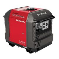 Honda EU3000iS Portable Inverter Generator, 3000 W