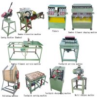 Manufacturing Best Cost Of Bamboo Toothpick Sharpening Wrapping Maker Process Factory Machine Equipment To Make Toothpick Flag