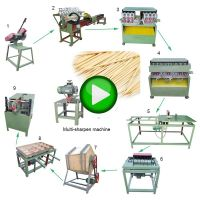 Hot Selling Manufacturers Fully Automatic Incense Stick Making Toothpick Maker Machine To Make Toothpicks In Nigeria