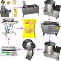 High Quality Low Price Potato Chips Making Machine, Potato Chips Making