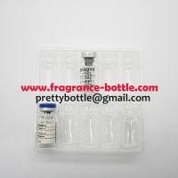Clear plastic trays for 10 units 2ml hgh vials