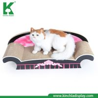 Kinchla  Manufacturer Eco-Friendly  Pet Bed Corrugated Cardboard Cat Scratch Cat Chew Toy