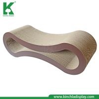 Factory Manufacturer Eco-Friendly  Cat Claw Scratcher Lounge with Catnip