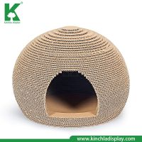 Kinchla 2018 China Wholesale Quality Pet Cage Corrugated Cat Scratcher House